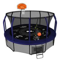 Батут UNIX line SUPREME GAME 14 ft + Basketball